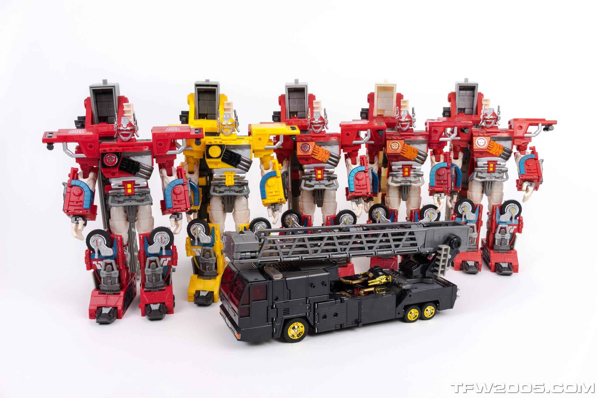 Black Super Fire Convoy 105