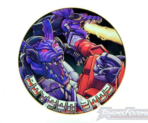 Botcon 2002 RID Collectors Plate