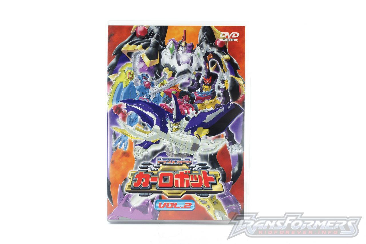 Car Robots DVDs-006