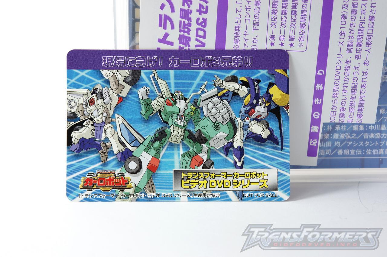 Car Robots DVDs-011