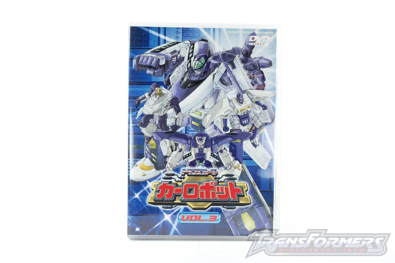 Car Robots DVDs-013