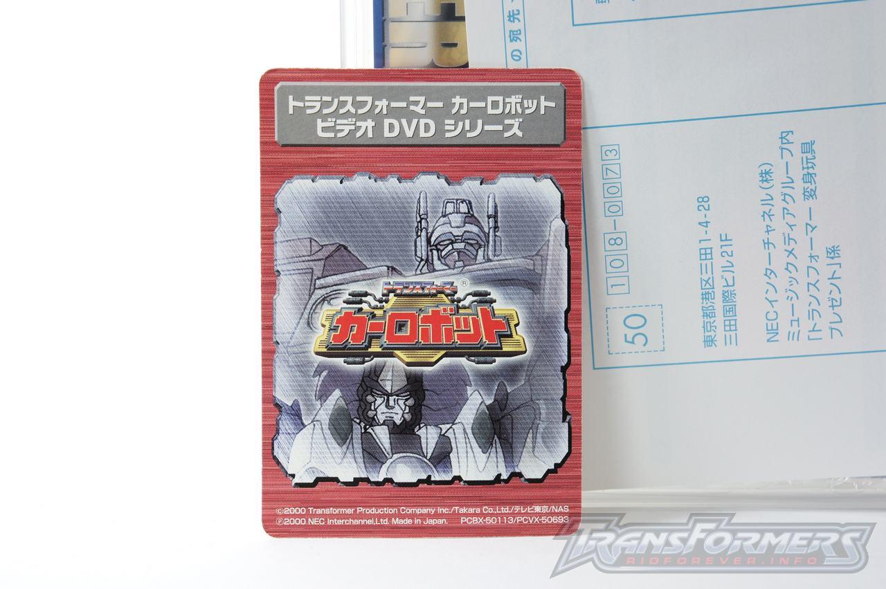 Car Robots DVDs-017