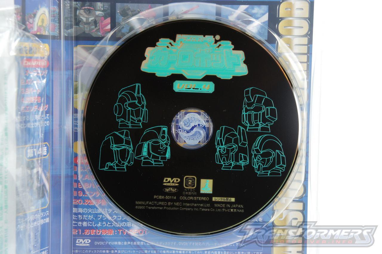 Car Robots DVDs-020
