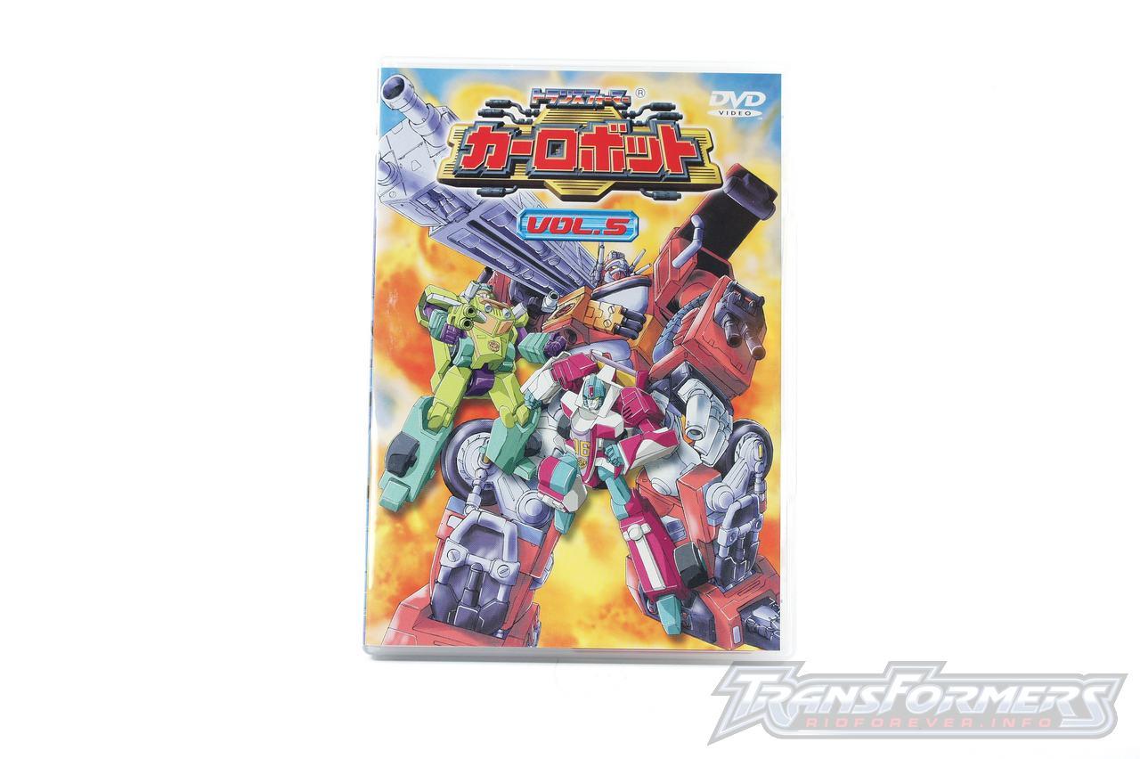 Car Robots DVDs-023