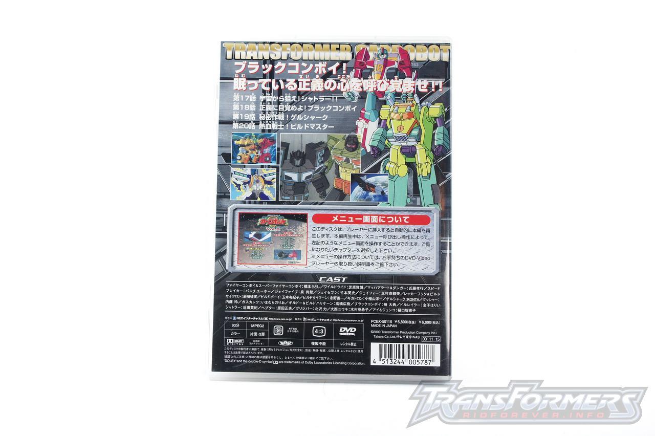 Car Robots DVDs-024