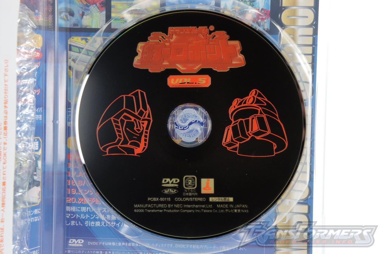 Car Robots DVDs-025