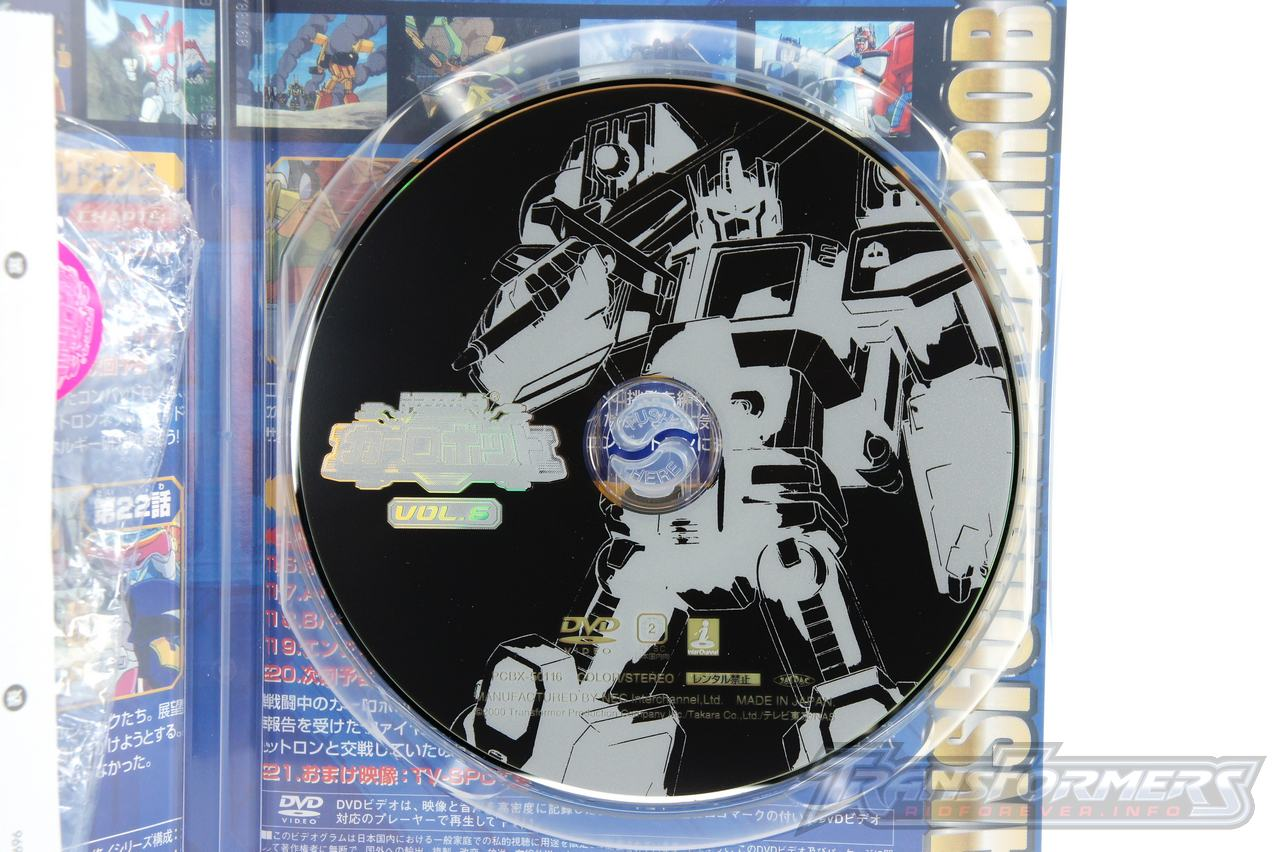 Car Robots DVDs-030