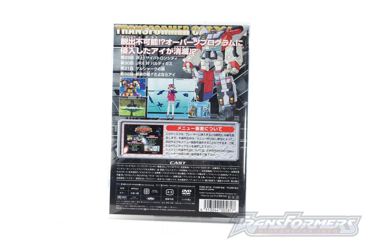 Car Robots DVDs-039