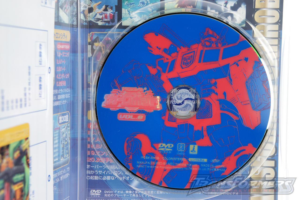 Car Robots DVDs-040