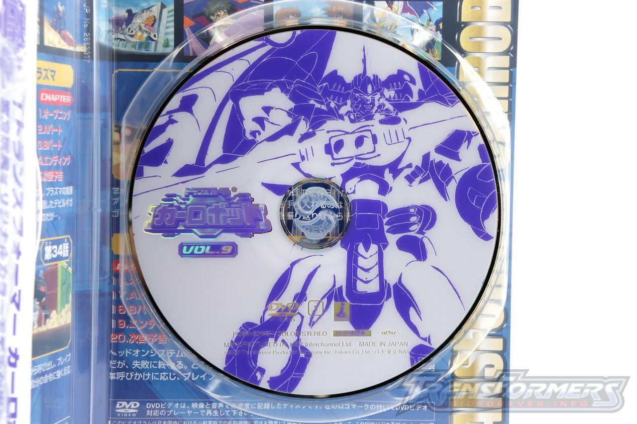 Car Robots DVDs-045