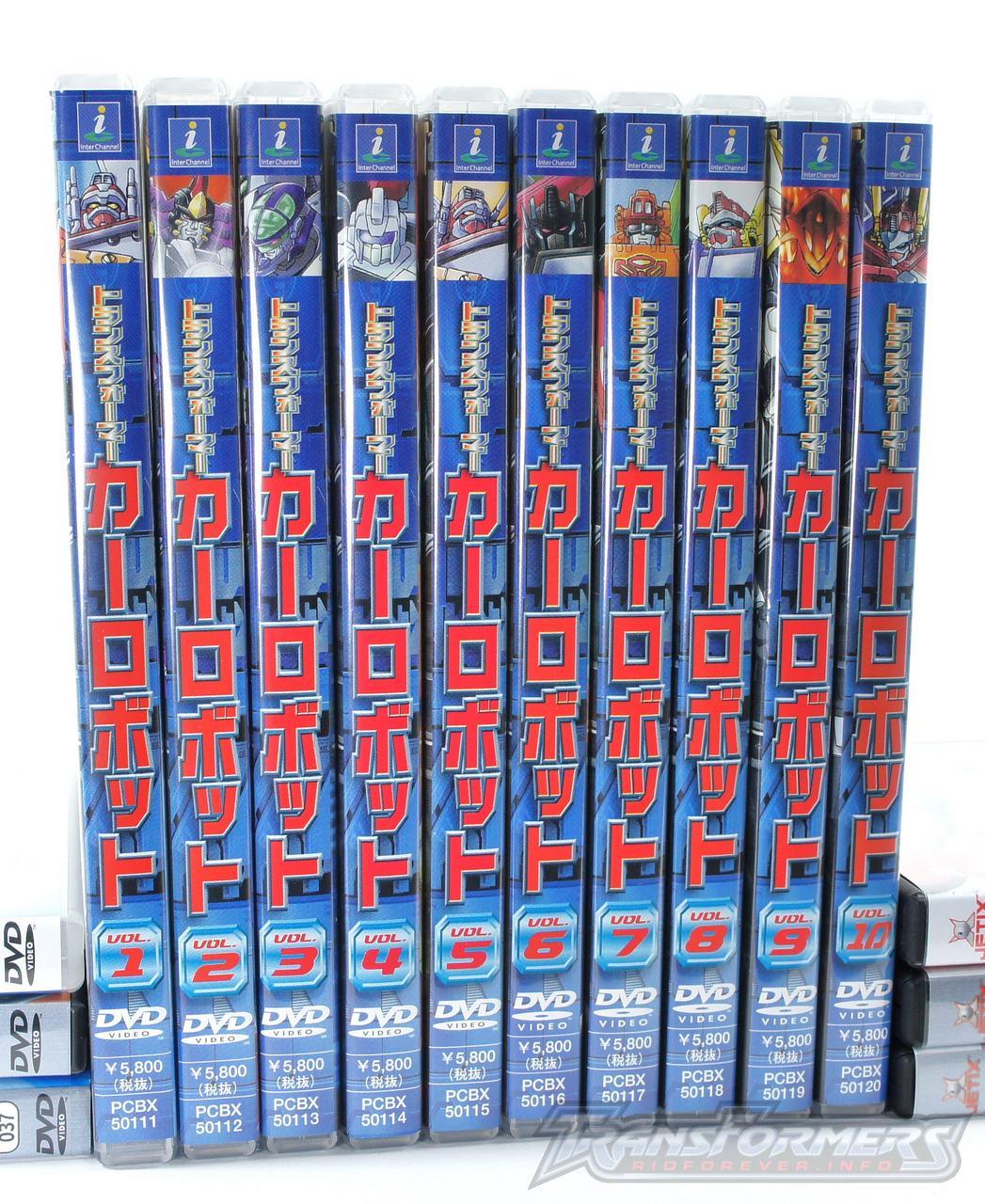 Car Robots DVDs-053