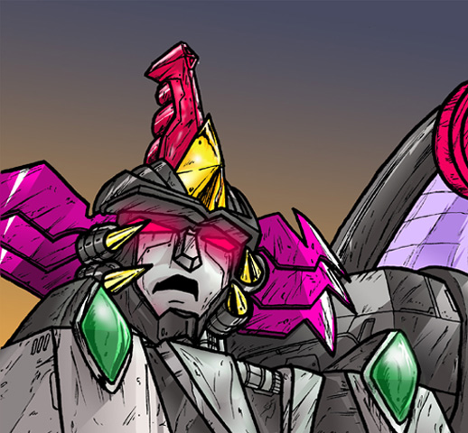 RiDMegatroncolored