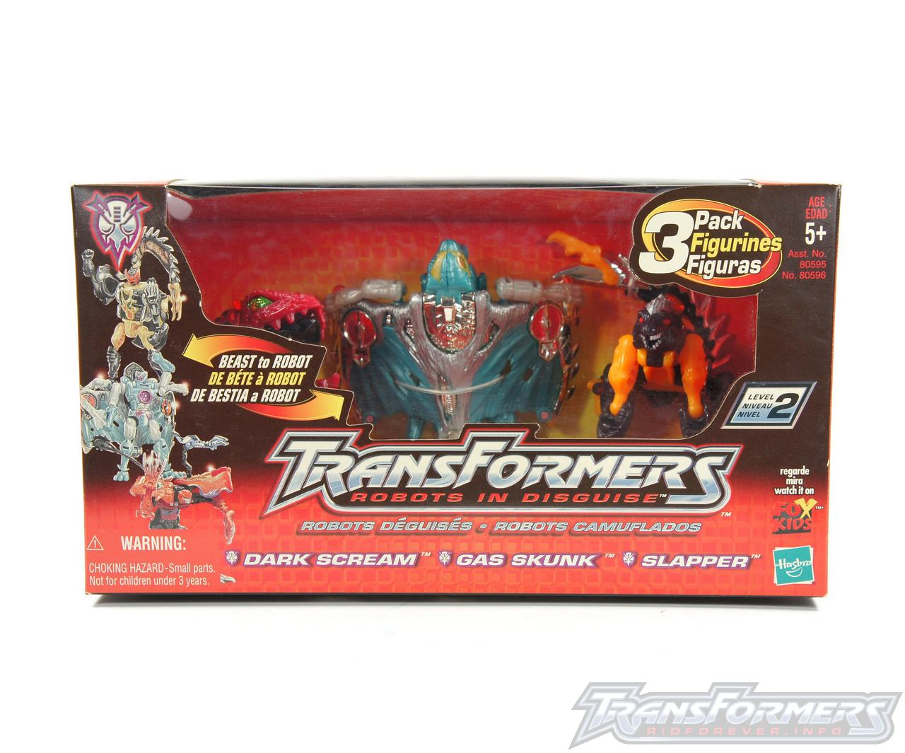 Predacon 3 Pack