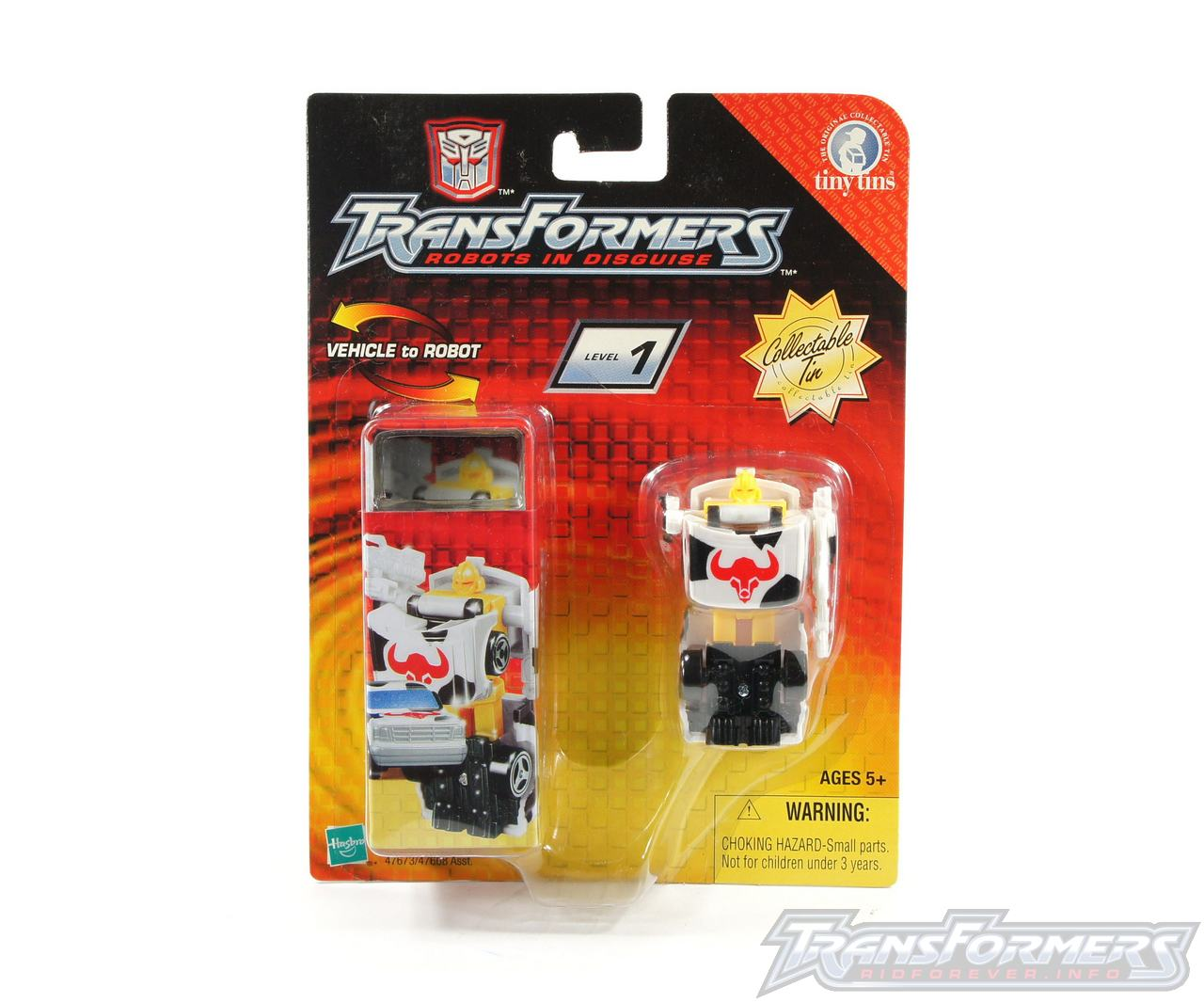 Tiny Tin Ironhide