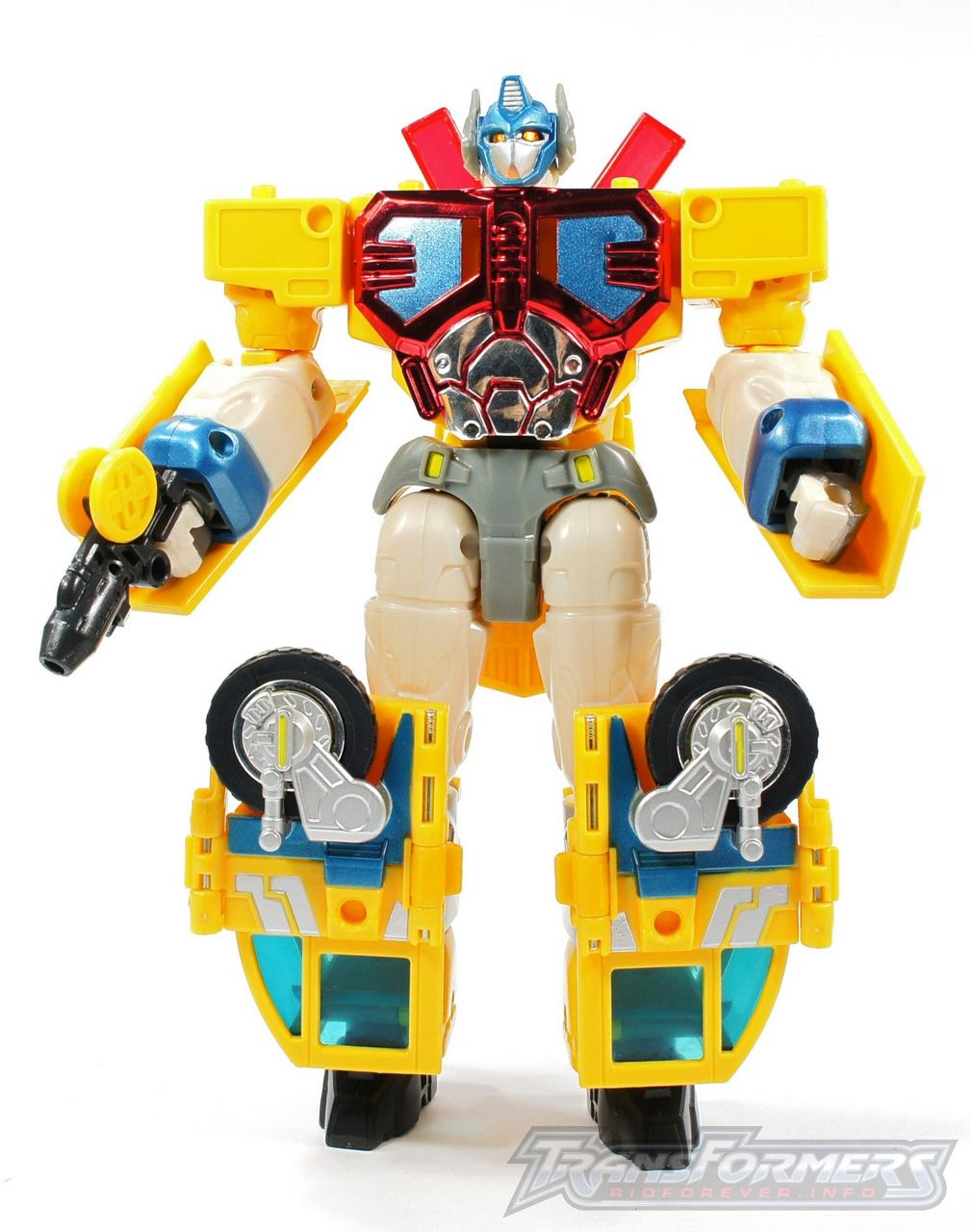 Universe Yellow Optimus Prime 010