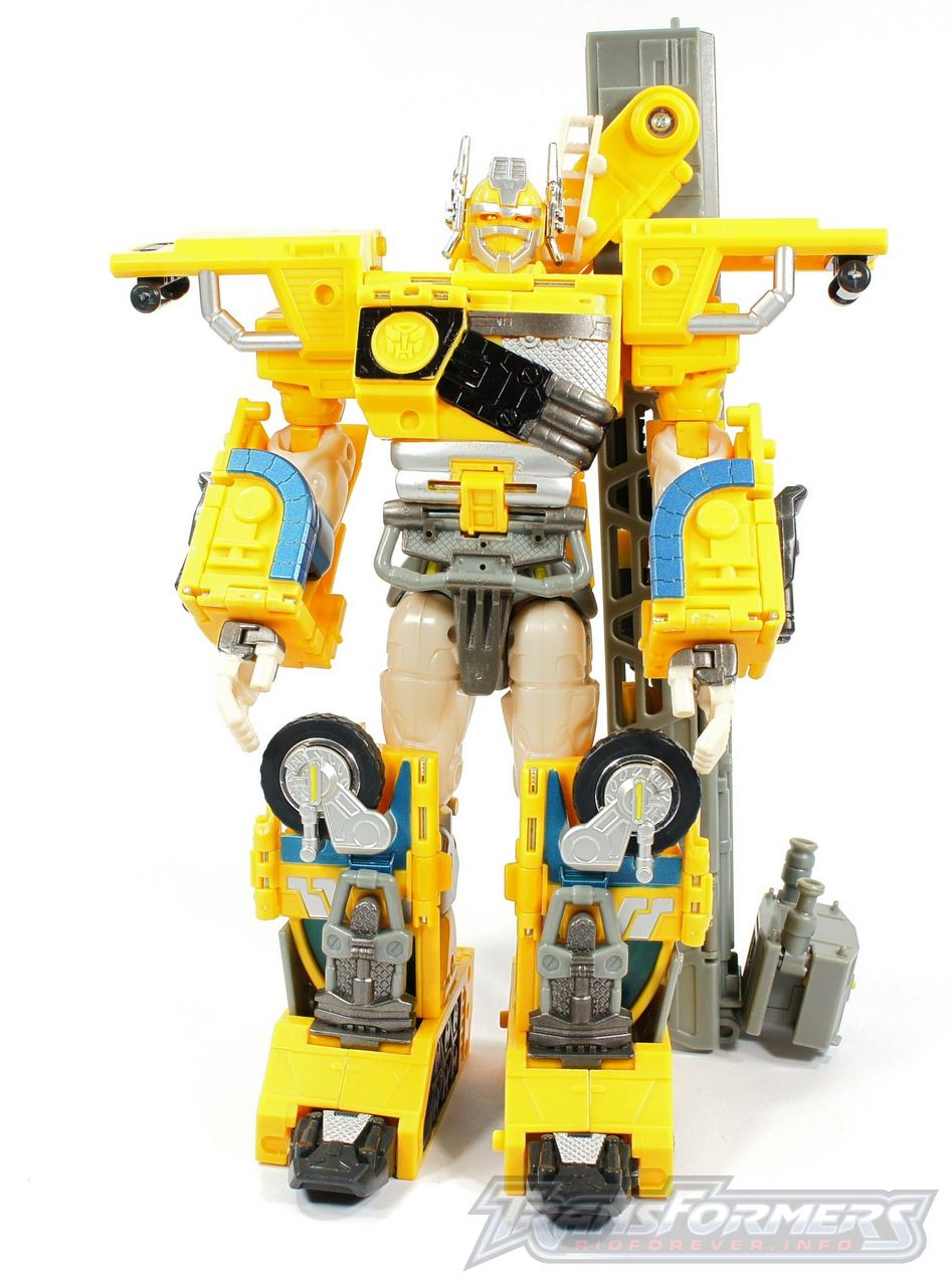 Universe Yellow Optimus Prime 014