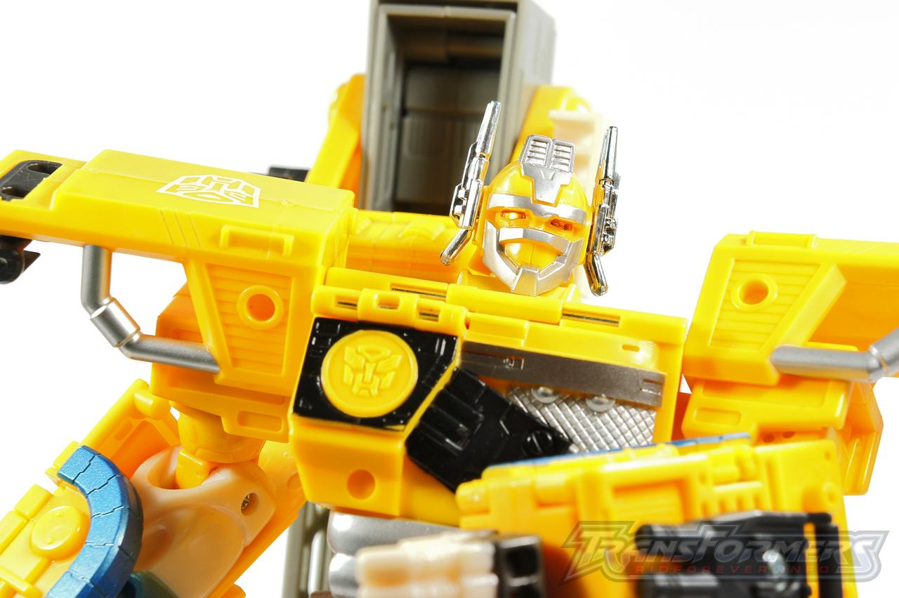 Universe Yellow Optimus Prime 033