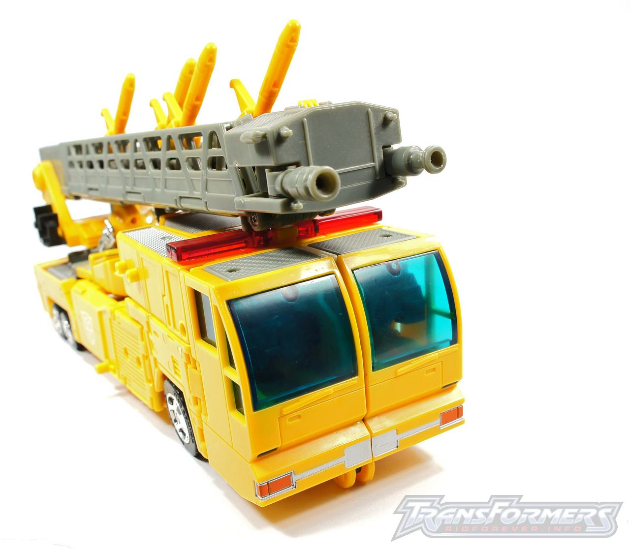 Universe Yellow Optimus Prime 049