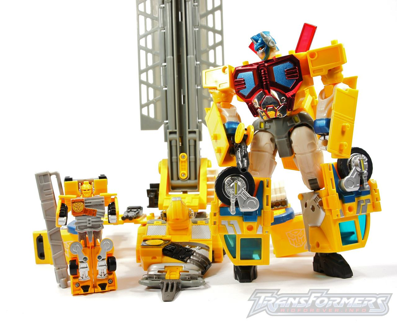 Universe Yellow Optimus Prime 053