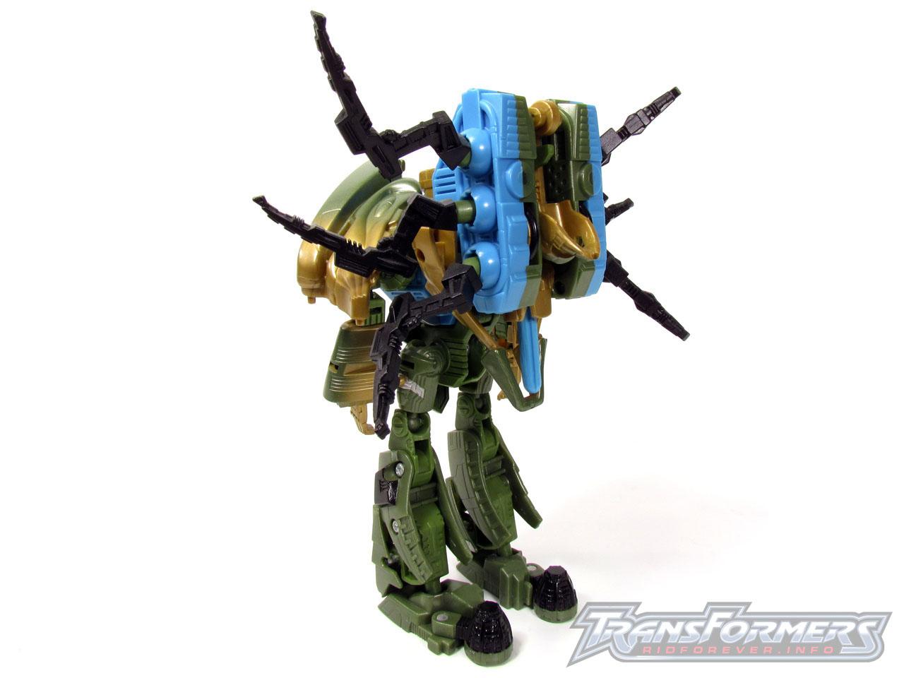 RID Megabolt Megatron Green 004