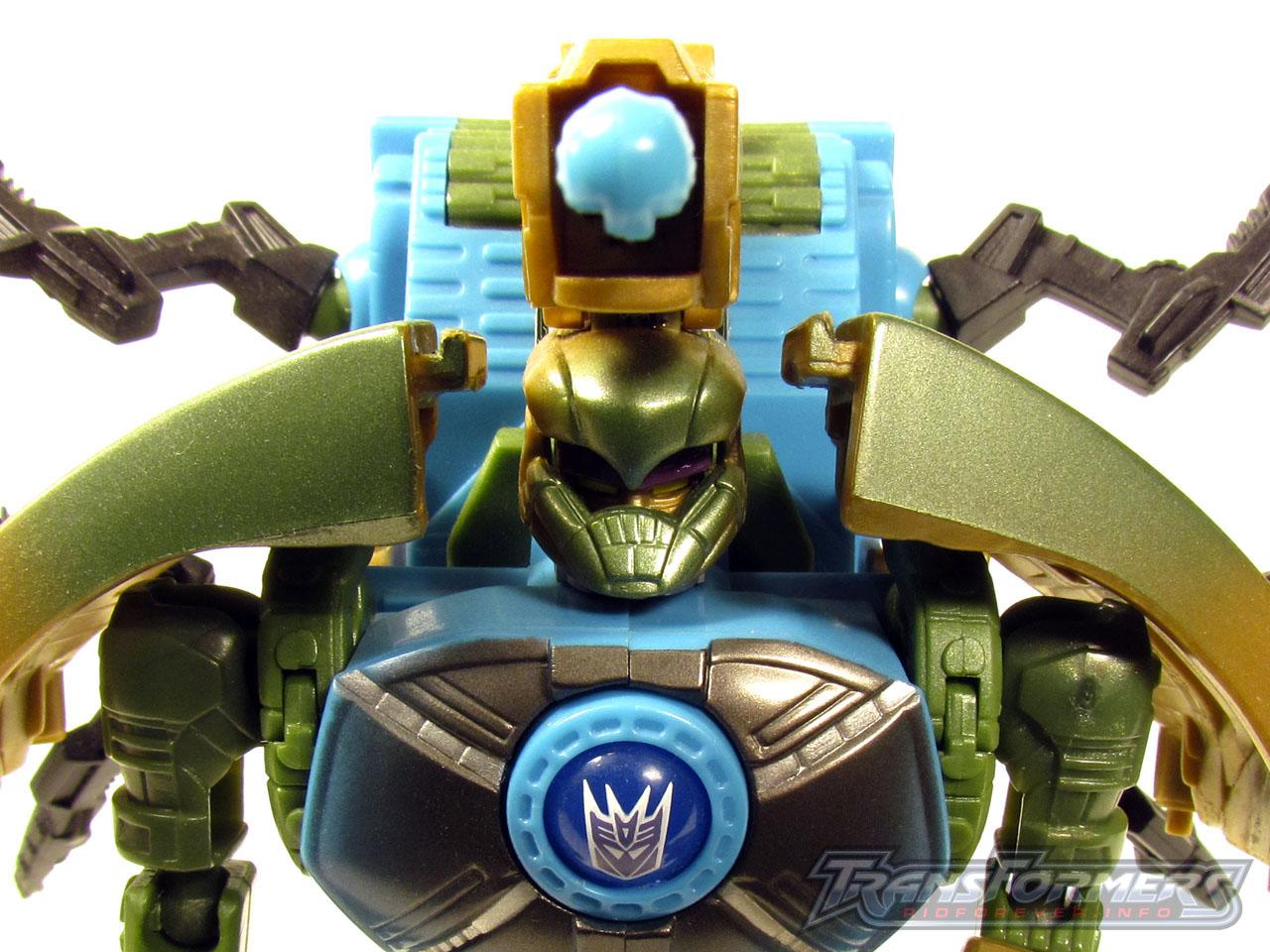 RID Megabolt Megatron Green 007