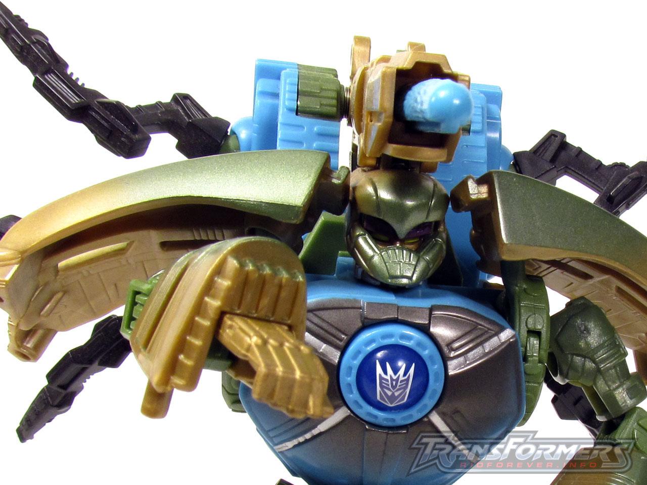 RID Megabolt Megatron Green 009