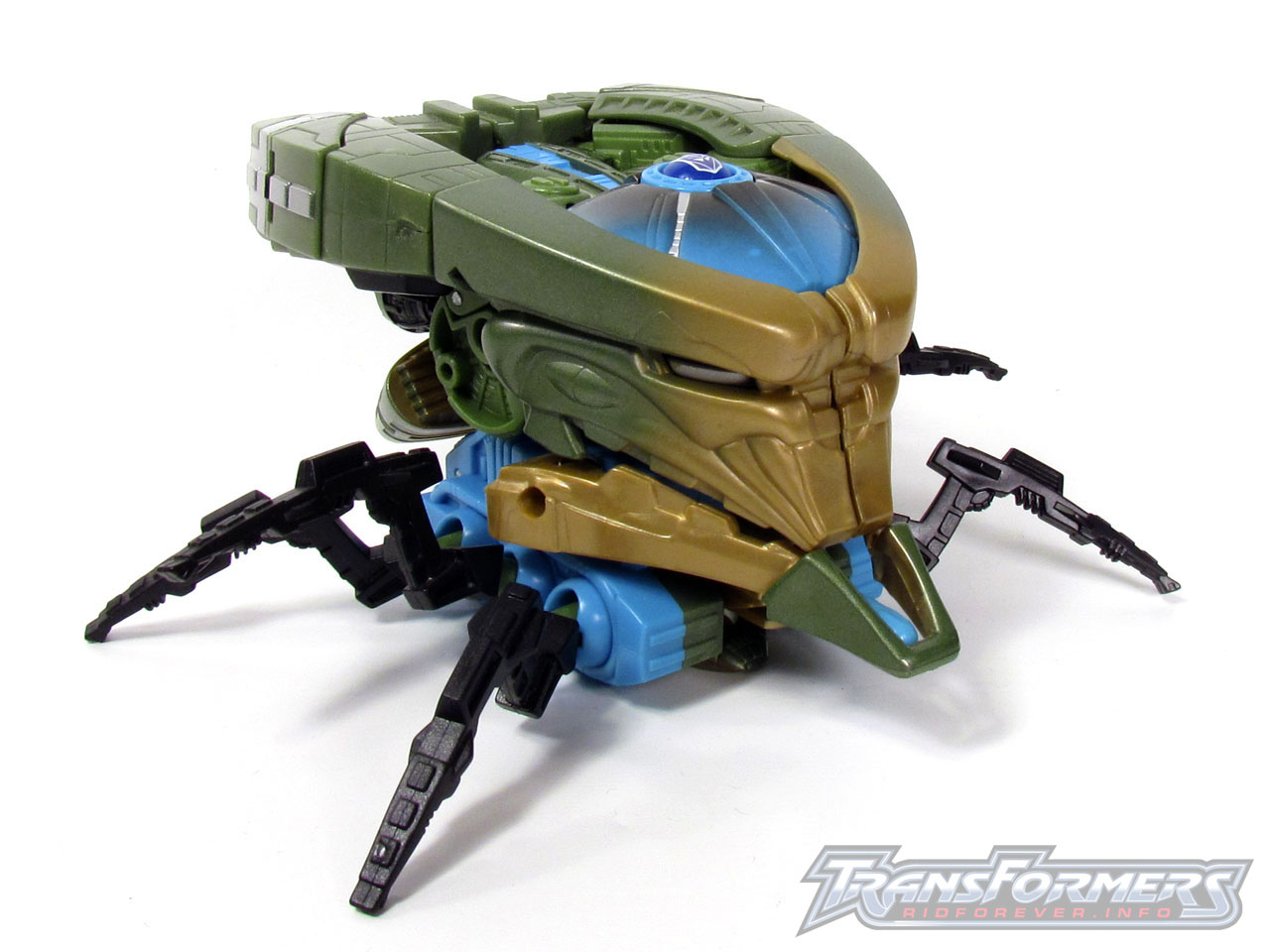 RID Megabolt Megatron Green 014