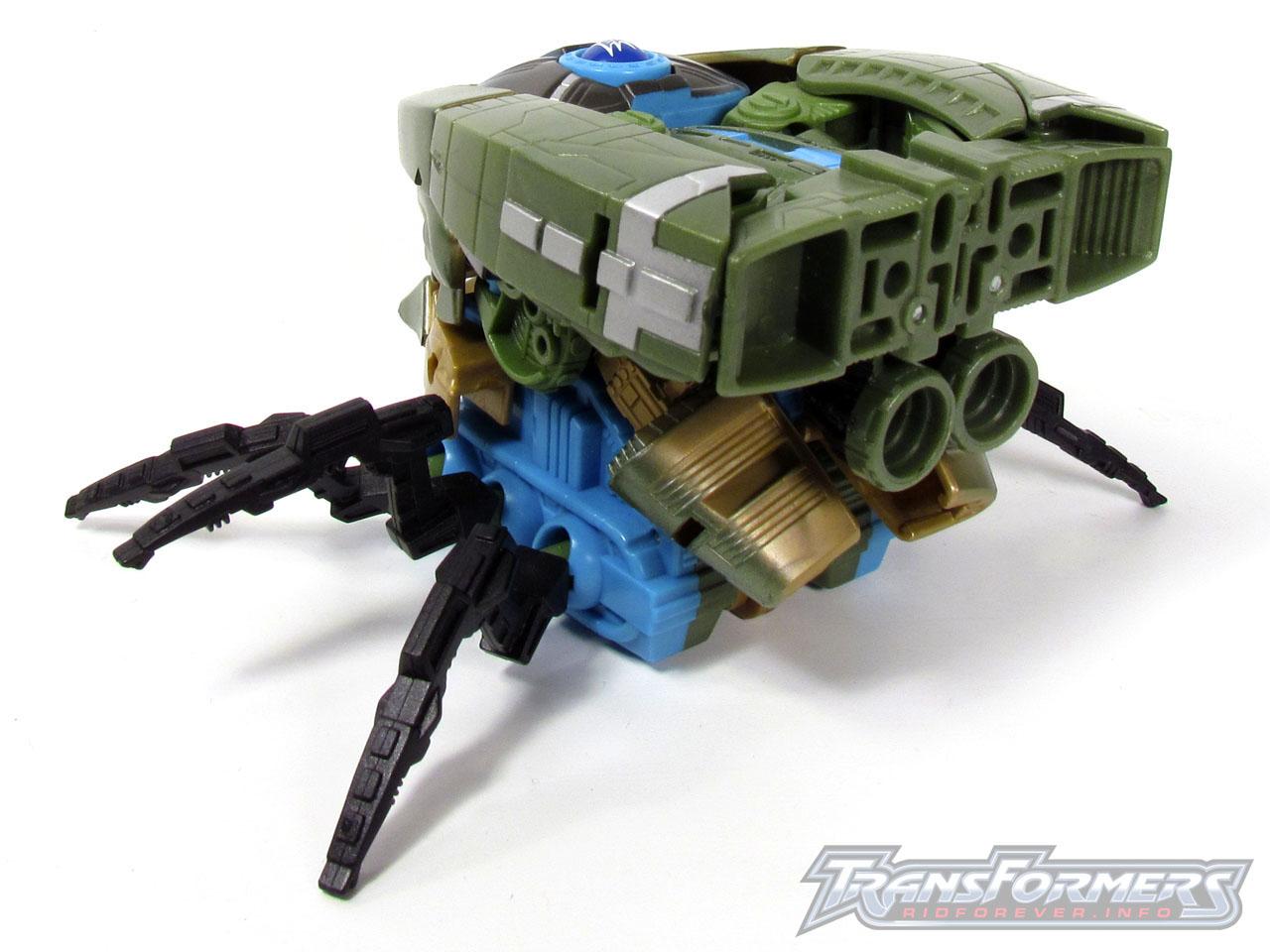 RID Megabolt Megatron Green 016