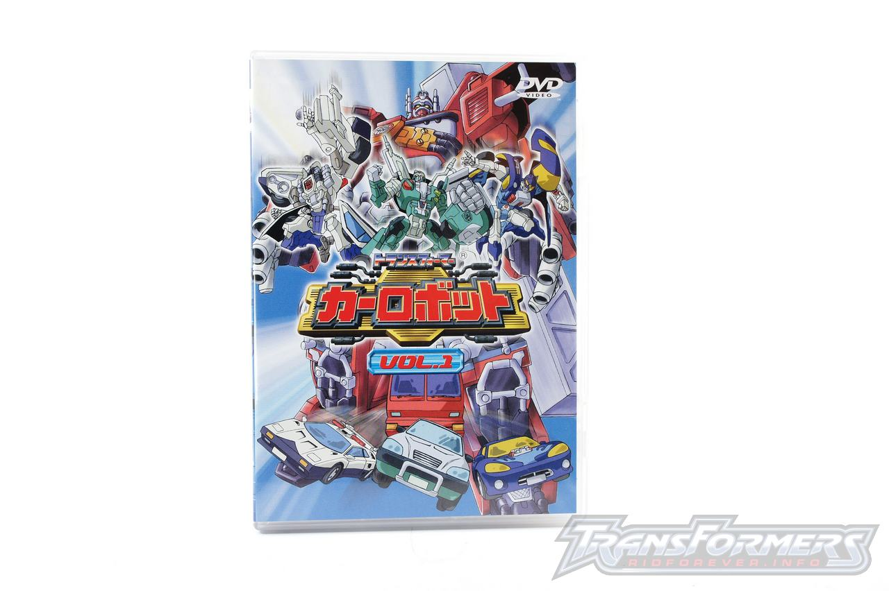 Car Robots DVDs-001