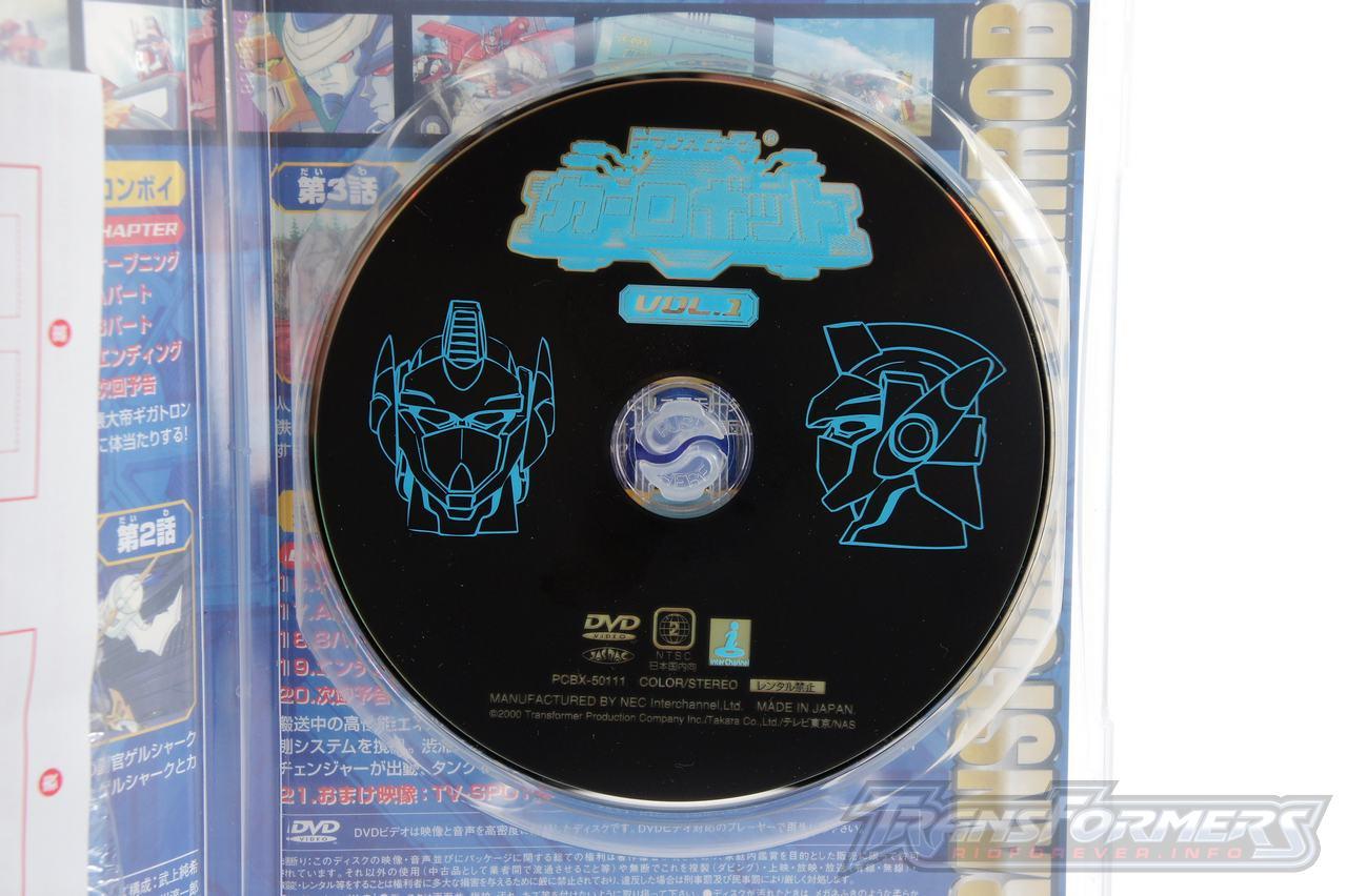 Car Robots DVDs-003