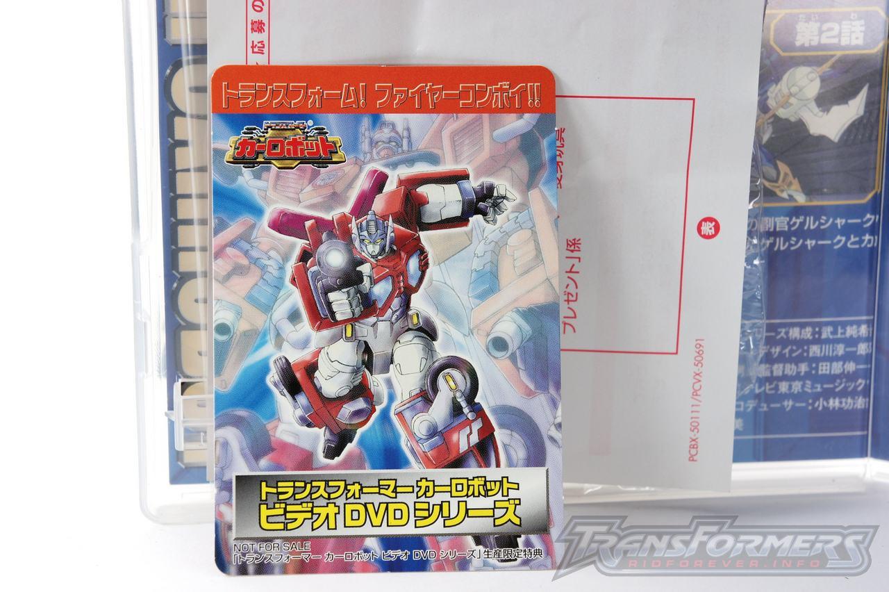 Car Robots DVDs-004