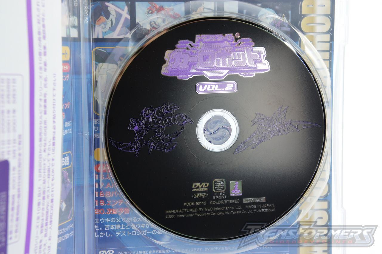 Car Robots DVDs-008