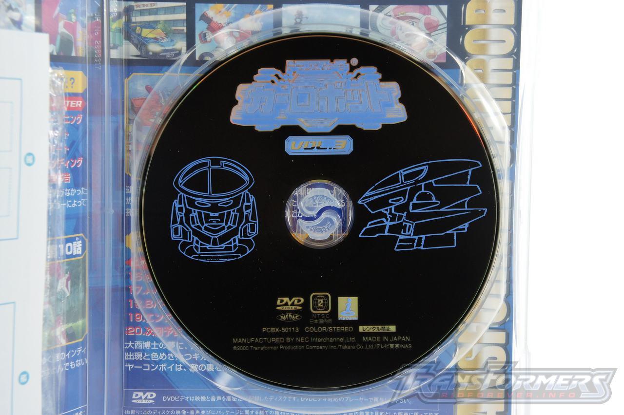 Car Robots DVDs-015