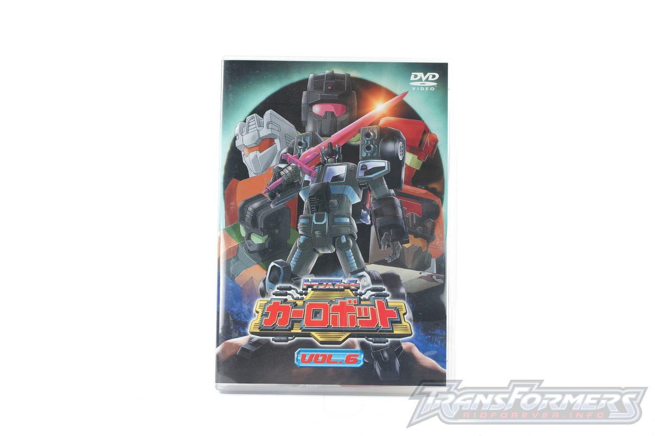 Car Robots DVDs-028