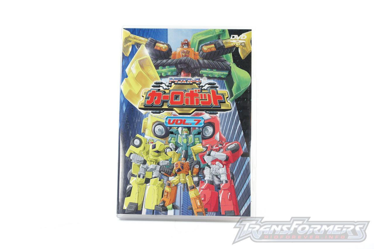 Car Robots DVDs-033