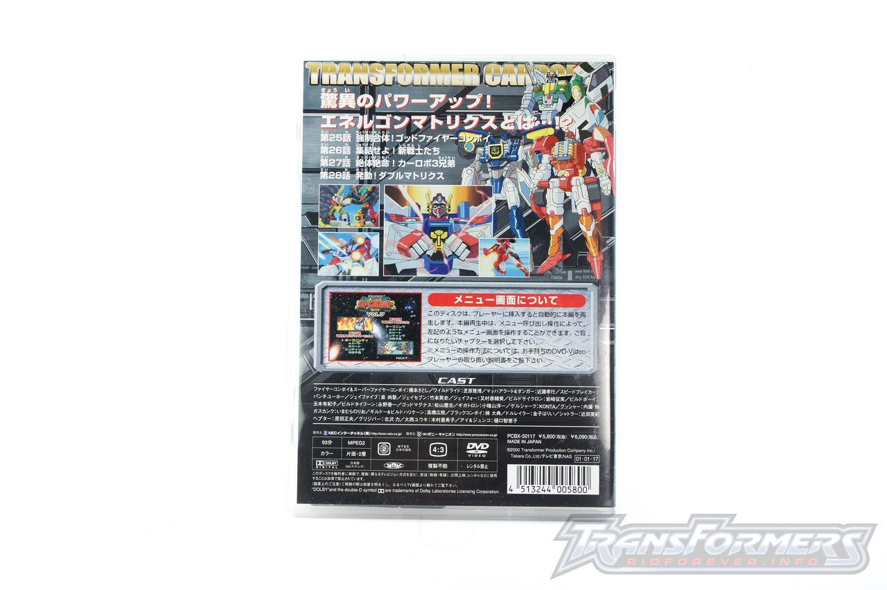 Car Robots DVDs-034