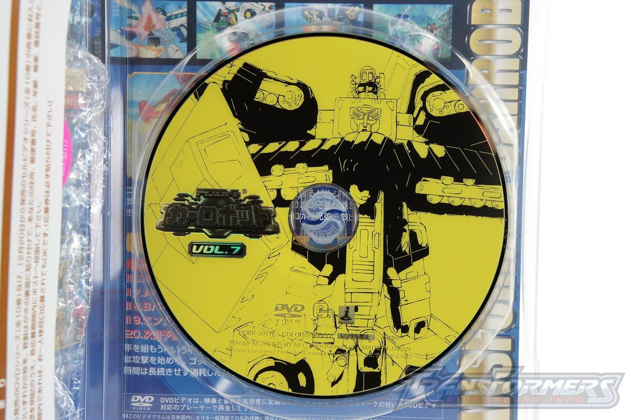 Car Robots DVDs-035