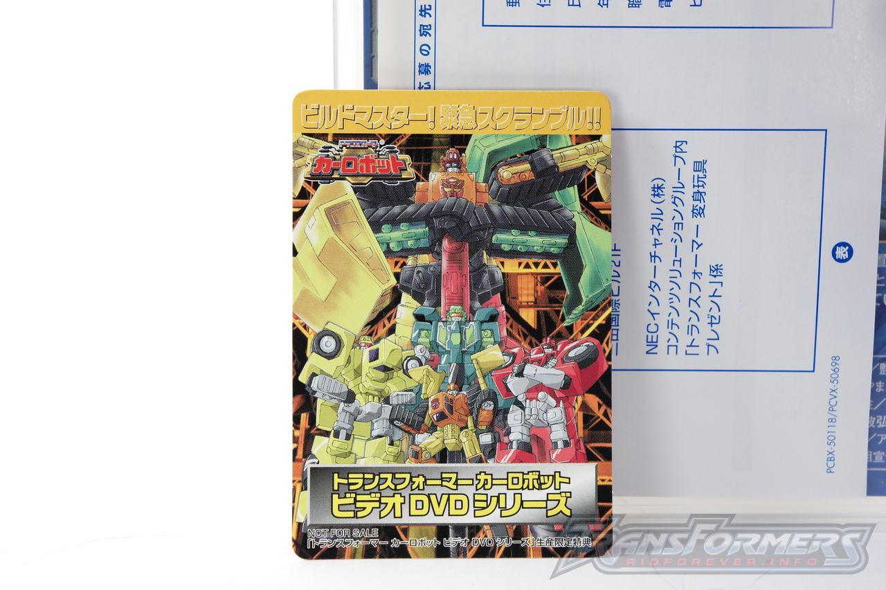 Car Robots DVDs-041