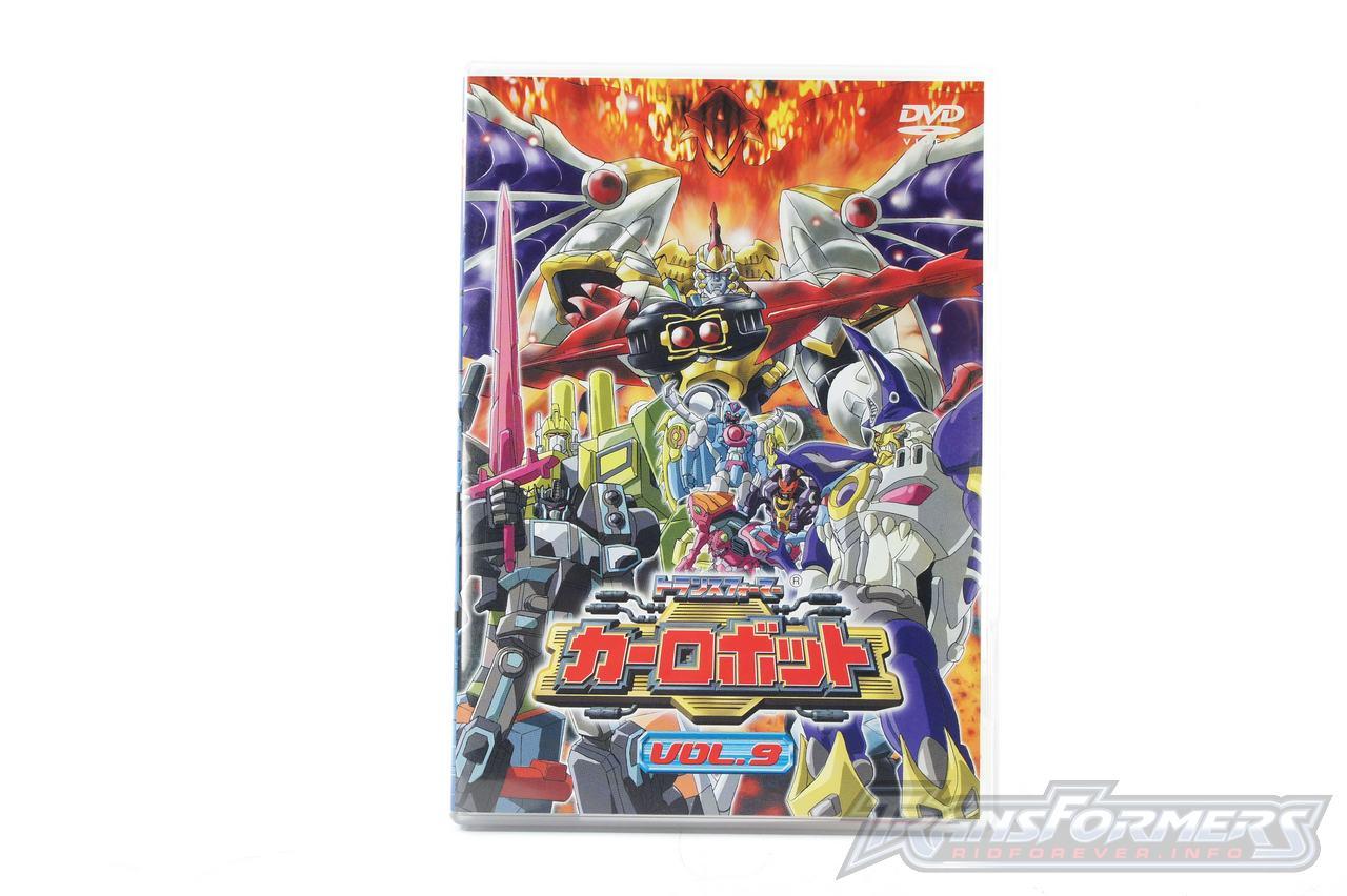 Car Robots DVDs-043