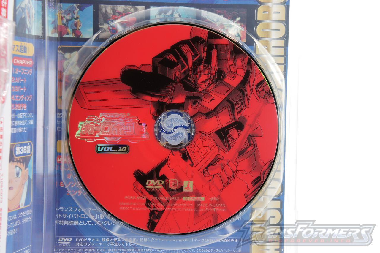 Car Robots DVDs-050