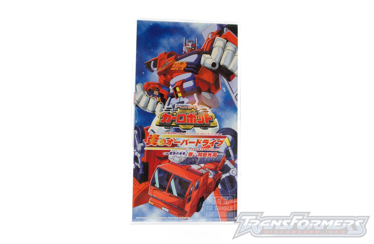 Car Robots Opening Theme Single-001