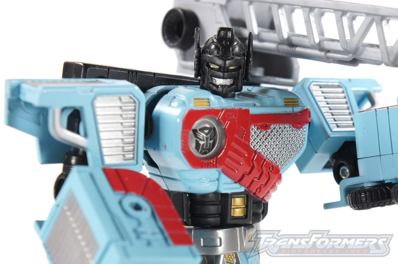Transformers Titanium Hot Zone Hotspot Figure