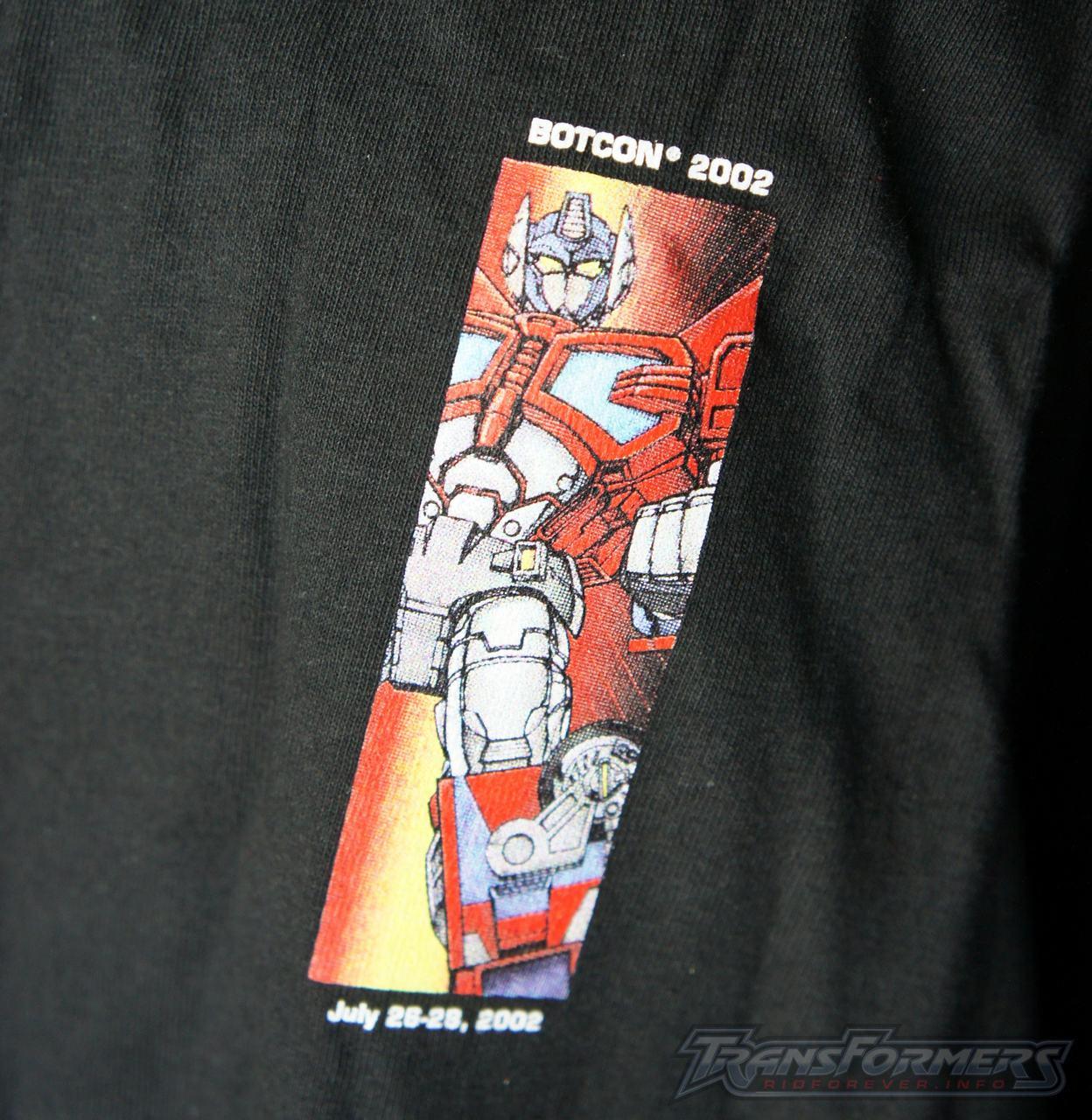 Botcon 2002 Shirt 002