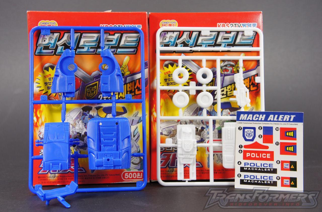 Korean Model Kit Mach Alert 01
