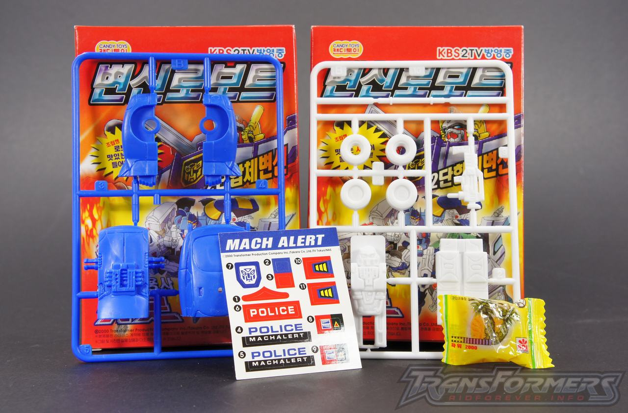 Korean Model Kit Speedbreaker 01