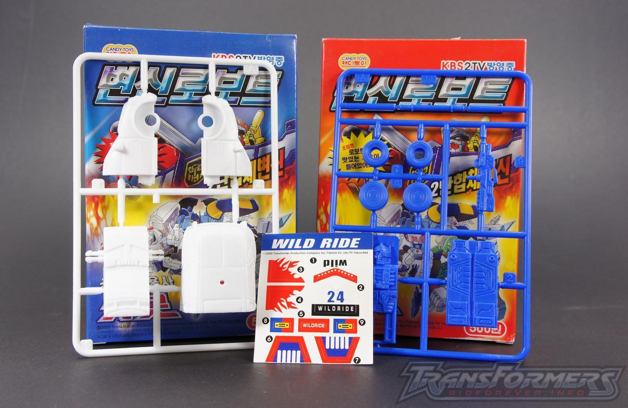 Korean Model Kit Wildrider 01