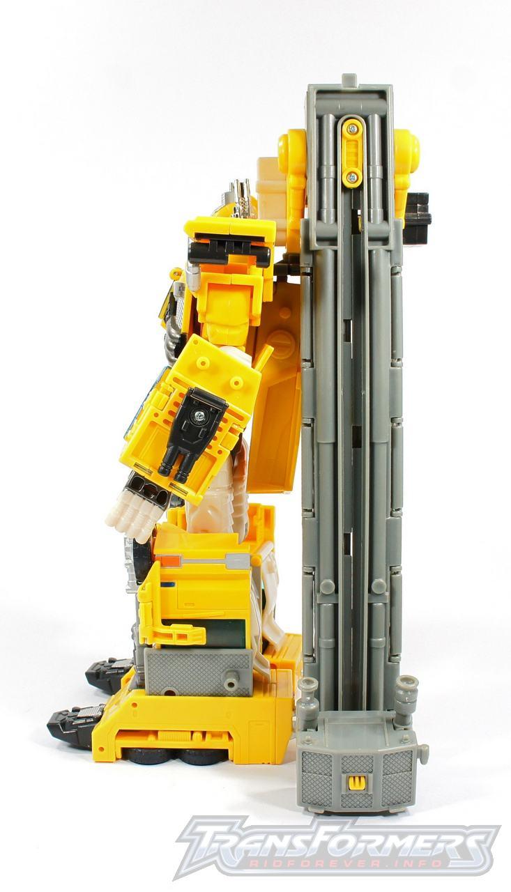 Universe Yellow Optimus Prime 015