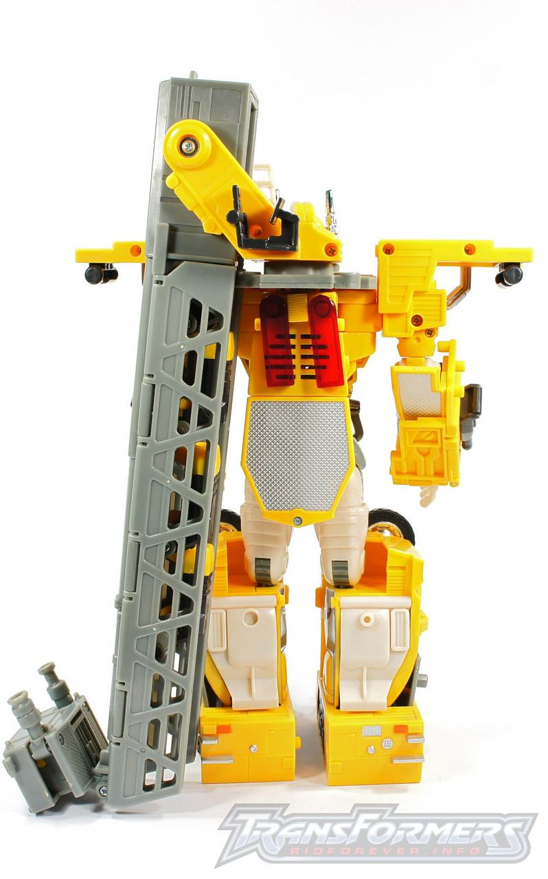 Universe Yellow Optimus Prime 016