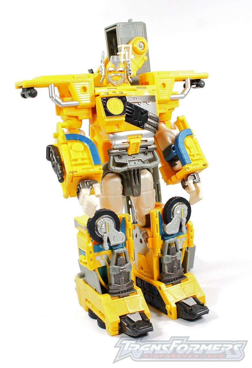 Universe Yellow Optimus Prime 018