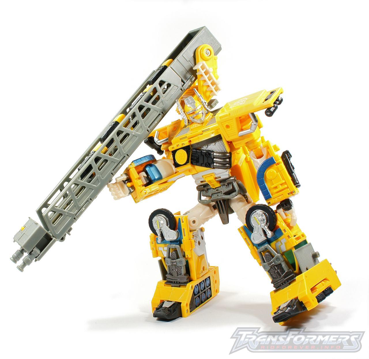 Universe Yellow Optimus Prime 025